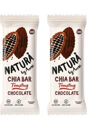 Natura By Anne Chocolate Chia Bar 2 x 38 gr