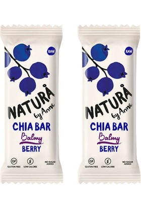 Natura By Anne Berry Chia Bar 2 x 38 gr