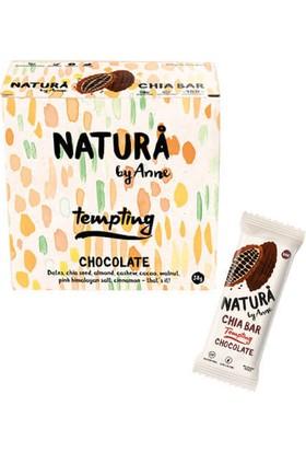 Natura By Anne Chocolate Chia Bar Box 12 x 38 gr