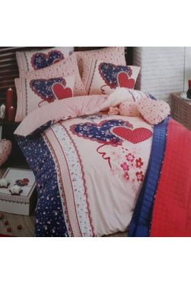 İgi Lovely Yatak Örtülü Nevresim Takımı Çift Kişilik
