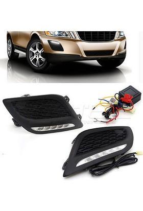 Ptn Volvo Xc60 2011-Sis Farı Ledli Drl Gündüz Led Far Lambası