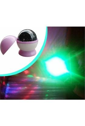 Bundera Döner Başlıklı Projektör Gece Lambası