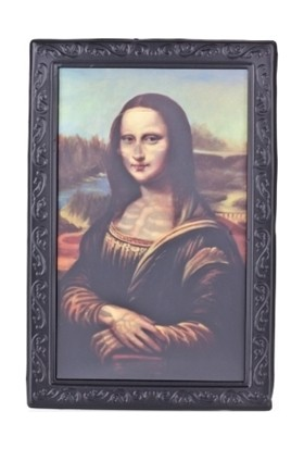 Bundera Mona Lisa Tablo 3 Boyutlu