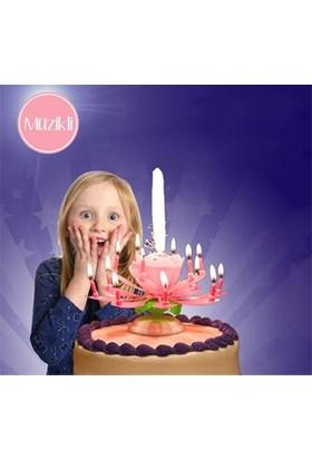 Bundera Kendiliğinden Açılan Sihirli Pasta Mumu