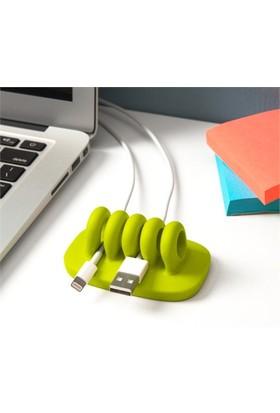 Bundera Keep Cables Masa Kenarı Kablo Tutucu 3 Adet Birden