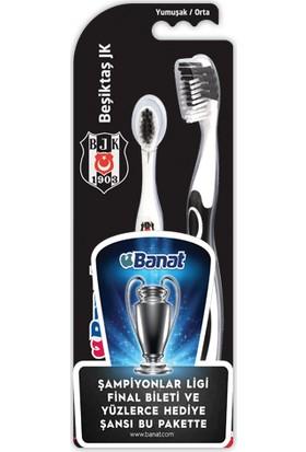 Banat Taraftar Beşiktaş Yetişkin+Çocuk Diş Fırçası