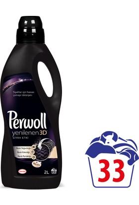 Perwoll Yenilenen Siyahlar Hassas Çamaşır Deterjanı 2 lt 33 Yıkama