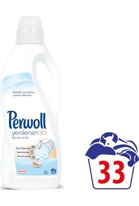 Perwoll Yenilenen Beyazlar Hassas Çamaşır Deterjanı 2 lt 33 Yıkama