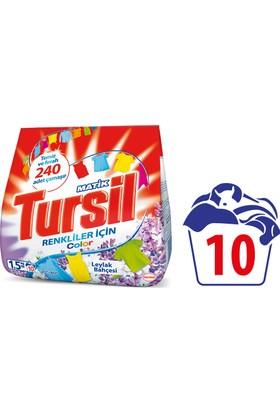 Tursil Matik Toz Çamaşır Deterjanı Color Leylak Bahçesi 1,5 kg