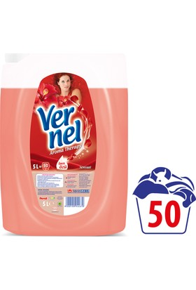Vernel Çamaşır Yumuşatıcısı Aroma Therapy Sensual 5 Lt 50 Yıkama