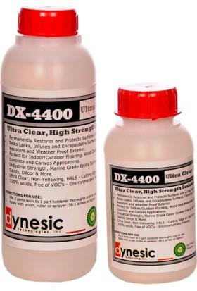 Dynesic DX-4400 Teknoloji Ultra Şeffaf Epoksi Reçine 750 gr