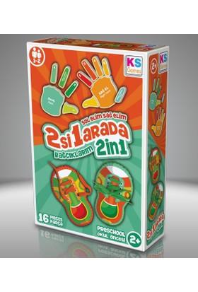 KS Games Sol elim Sağ elim 2 si 1 arada Bağcıklarım