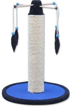 Agira Peluş Oyuncaklı Sisal Kedi Tırmalaması 45 x 62 Cm