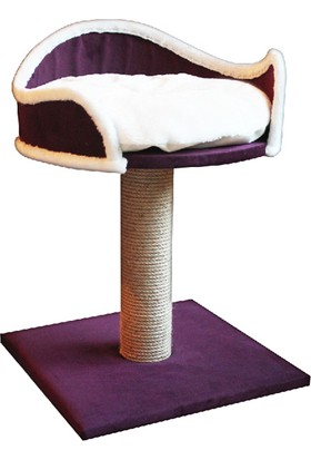 Agira Platform Yataklı Kedi Tırmalama Standı 60 Cm