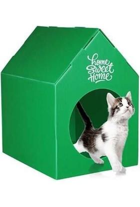 Agira Home Sweet Home Su Geçirmez Kedi Evi 45 x 35 x 46 Cm