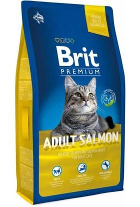 Brit Premium Salmon Somon Balıklı Yetişkin Kedi Maması 8 Kg
