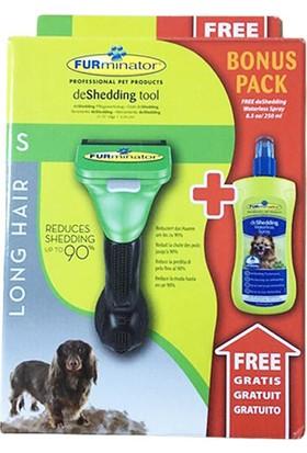 Furminator Uzun Tüylü Köpekler Için Temizlenebilir Tarak Küçük - Kuru Şampuan
