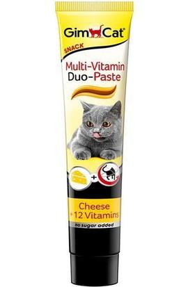Gimcat Multi Vitamin Paste 12 Vitaminli Peynirli Kedi Macunu 50 Gr