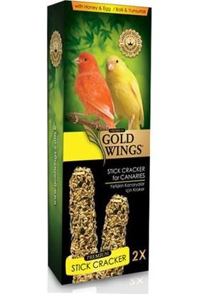 Gold Wings Premium Kanaryalar İçin Ballı Kraker 2'li