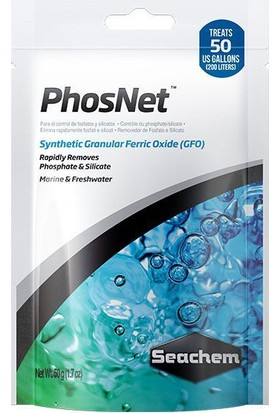 Seachem Phosnet Akvaryum Filtre Malzemesi 50 Gr