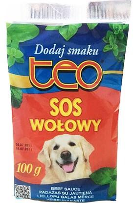 Teo Pouch Seçici Köpekler İçin Lezzet Arttırıcı Köpek Maması Sosu Biftekli 100 Gr