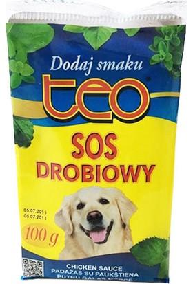 Teo Pouch Seçici Köpekler İçin Lezzet Arttırıcı Köpek Maması Sosu Tavuklu 100 Gr