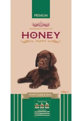 Honey Puppy Lamb & Rice Kuzu Pirinçli Yavru Köpek Maması 15 Kg