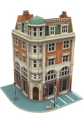 Cubic Fun 3D Puzzle Jigscape Banka Binası Londra