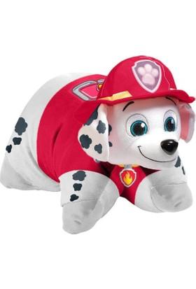 Evrensel Oyuncak Pillow Pets Paw Patrol Peluş Oyuncak Marshall Yastık 28 Cm