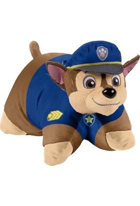 Evrensel Oyuncak Pillow Pets Paw Patrol Chase Peluş Oyuncak Yastık 28 Cm