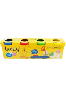 Degar Oyuncak Tweety 4'Lü Oyun Hamuru