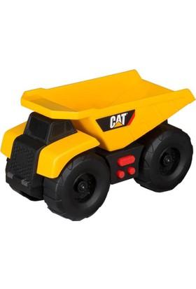 Cat Dump Truck İş Makinesi Excavator Mini Sesli ve Işıklı Araç Seti