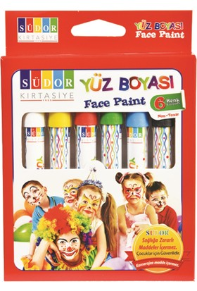 Südor Südor Yüz Boyası Set 6 Yb01