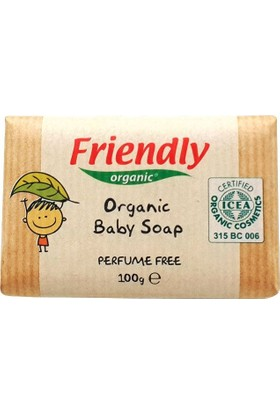 Friendly Organic Bebek Sabunu 100 Ml