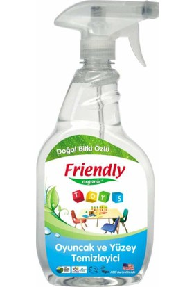 Friendly Organic Gereç Yüzeyi Ve Oyuncak Temizleyici 650 Ml
