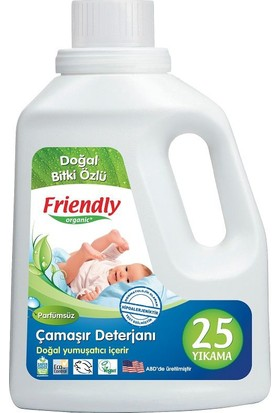 Friendly Organic Hassas Ciltler İçin Çamaşır Deterjanı Kokusuz 739 Ml