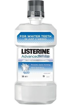 Listerine Advanced White Diş Beyazlatıcı Gargara 500 Ml