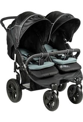 Sunny Baby 814 Sweety İkiz Bebek Arabası Siyah