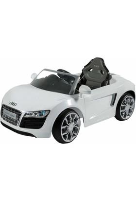 Sunny Baby W458Qht Audı R8 Beyaz Akülü Araba