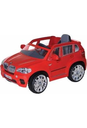 Sunny Baby W498Qht Bmw X5 Kırmızı Akülü Araba