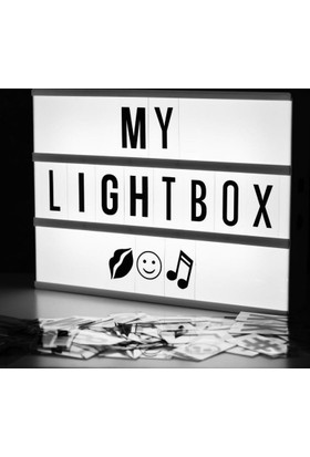 decArtHOME Lightbox (Işıklı Pano A4)
