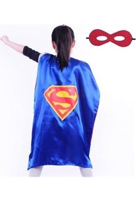 Partypark Superman Pelerin Maskesi (5 - 12 Yaş)