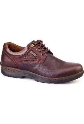 Cabani Waterproof Günlük Erkek Ayakkabı Kahverengi Nubuk