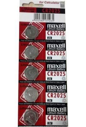 Maxell Orjinal Pil Para Model 3V 2025 (5adet)