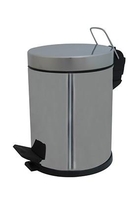 AfilliDerya Metal Kapaklı Çöp Kovası 3 Lt