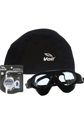 Povit 8170 Yüzücü Gözlüğü-Voit Bez Bone-Voit Kulak Burun Tıkacı