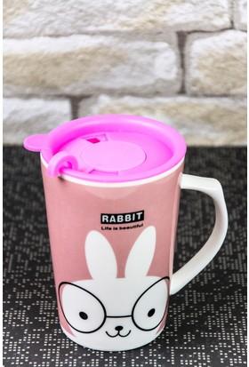 Mukko Home Porselen TermosKupa Bardak - Tavşan