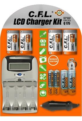 Cfl Lcd Fast Charger Kit Q175 Şarj Cihazı