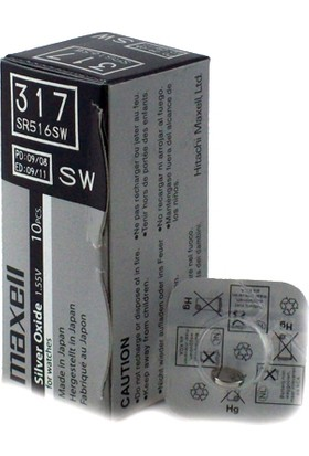 Maxell 317 Sr-516Sw Pil 1Li Blister