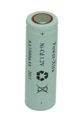 Power-Xtra 1.2V Ni-Cd Aa 1000 Mah Şarjlı Kalem (Flat) Pil